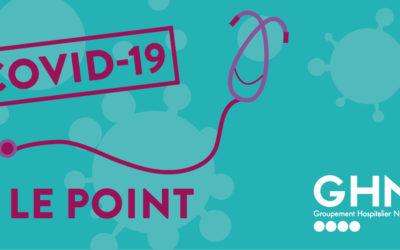 Covid-19 : Le point au 26 mars 2020 dans les établissements du GHND