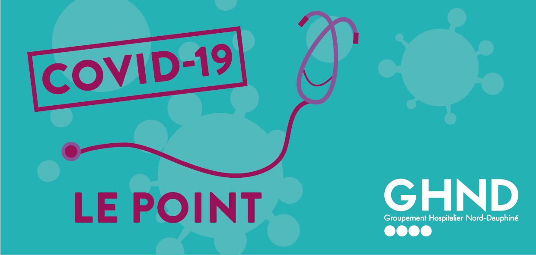 Covid-19 : Point de situation dans les établissements du GHND au 4 décembre 2020